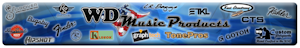 True Fret Guitar is an authorized parts dealer for WD Music Products